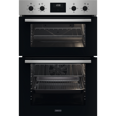 Image of ZKCXL3X1 56cm Built In Electric Double Oven   Stainless Steel