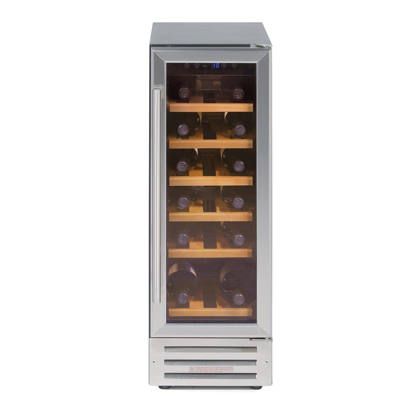 Image of 300WC Built-In 18 Bottle Wine Cooler | Stainless Steel