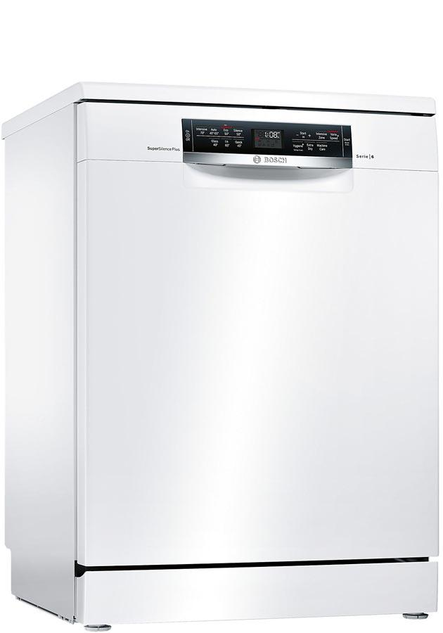 bosch serie 6 sms67mw01g sms67mw01g freestanding dishwasher. Black Bedroom Furniture Sets. Home Design Ideas