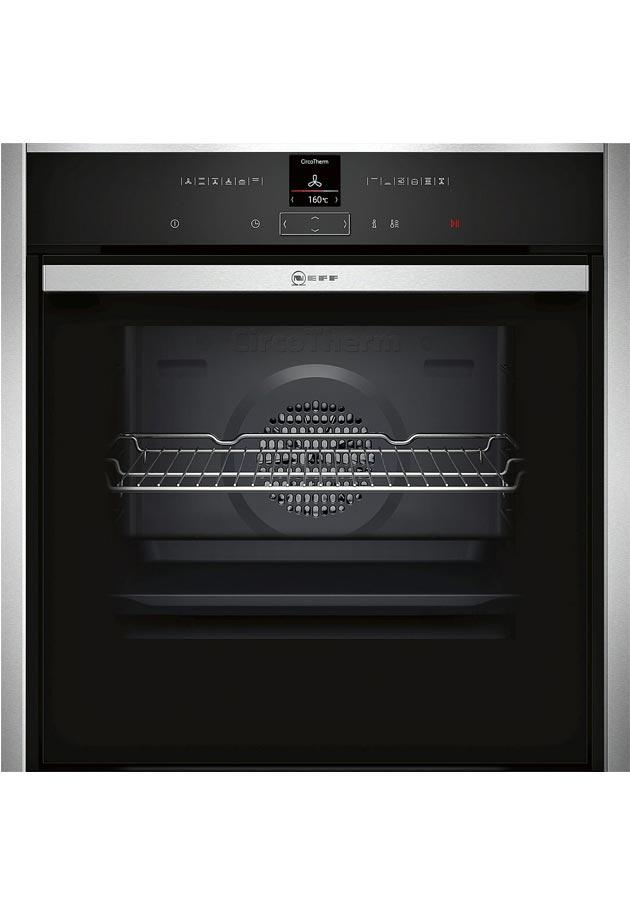 Neff B57CR22N1B Slide & Hide Built-In Pyrolytic Single Oven