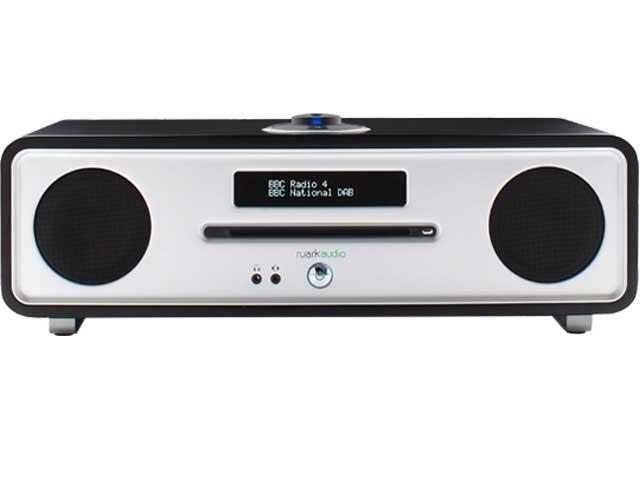 Ruark Audio R4 Mk3 Integrated Music System CD, DAB in Soft Black Lacquer