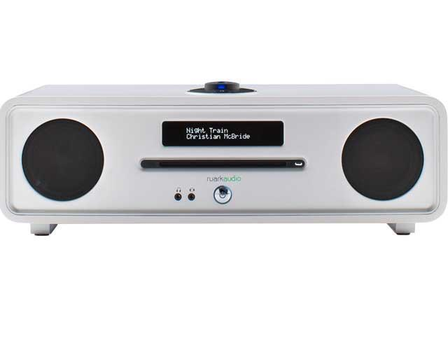 Ruark Audio R4 Mk3 Integrated Music System CD, DAB in Soft White Lacquer