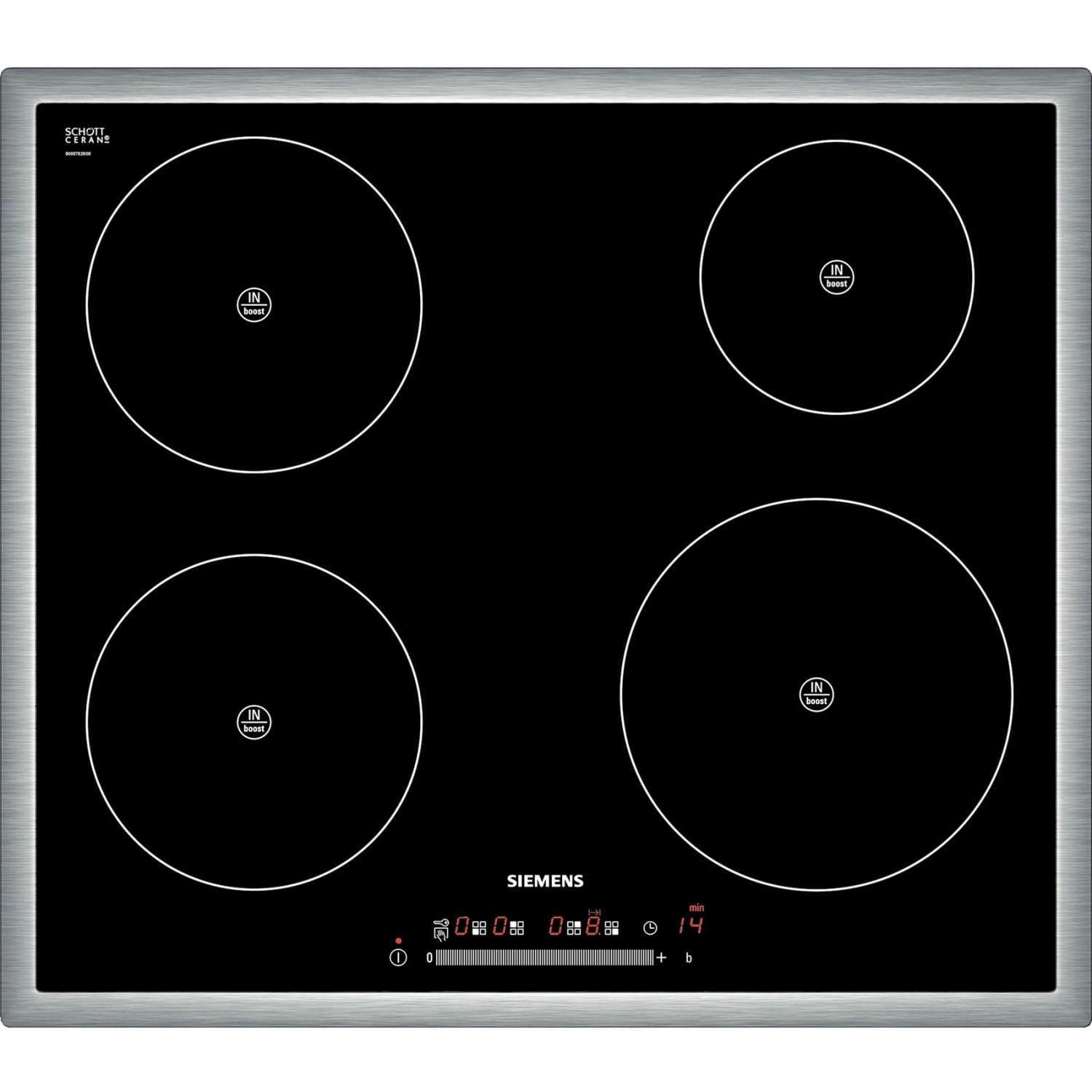 Siemens ​​EH645FE17E 60cm 4 Zone Induction Electric Hob