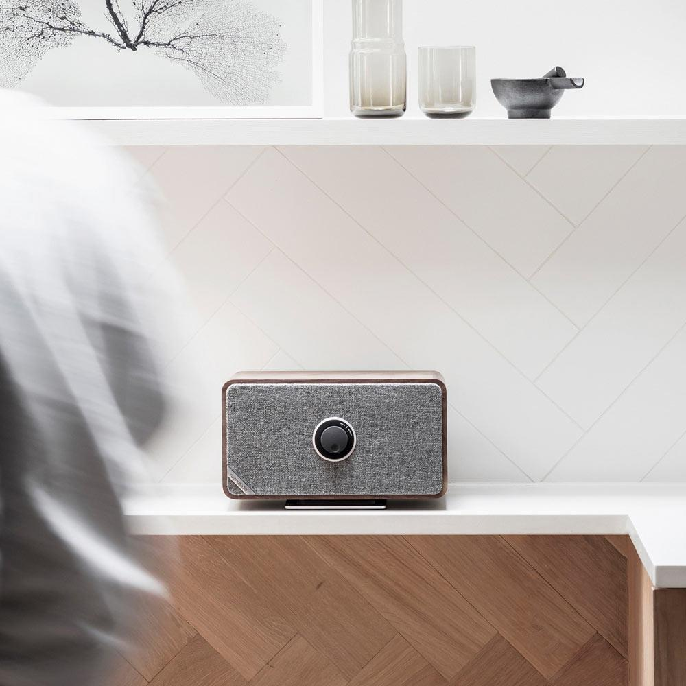 Ruark Audio MRx Bluetooth Connected Wireless Speaker System - Rich Walnut Veneer