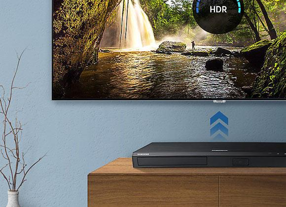 Samsung UBD-M9000 4K HDR Ultra HD UHD Blu-ray Player