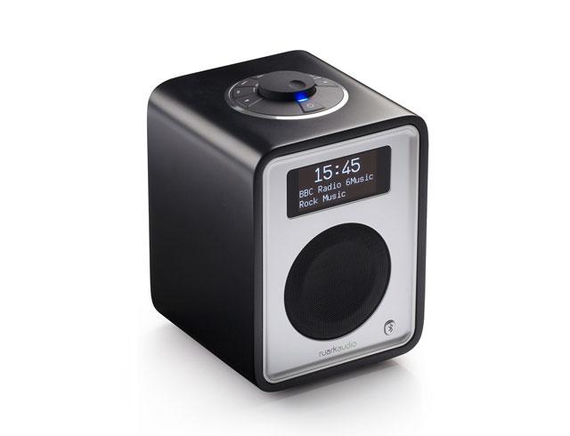 Ruark Audio R1 Mk3 DAB Bluetooth Digital Radio in Soft Black Lacquer