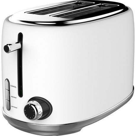 Image of KY865WHITE 2 Slice Toaster - White
