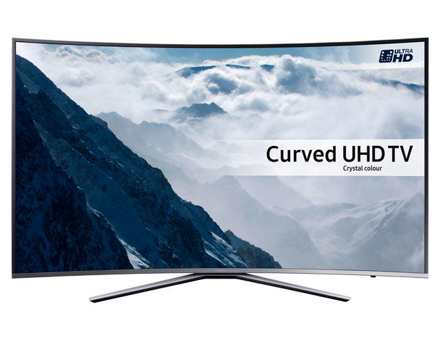 "Samsung UE43KU6500 43"" 4K HDR Ultra HD Curved UHD TV"