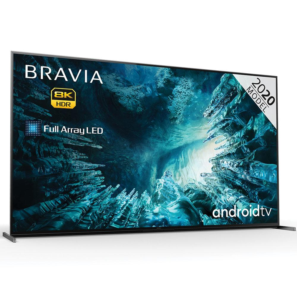 Sony BRAVIA KD85ZH8BU (2020) 85 inch 8K HDR Full Array LED TV with Android TV
