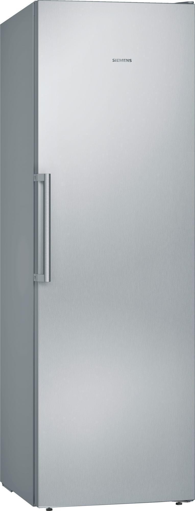 Image of iQ300 GS36NVIFV 242 Litre 60cm Single Door Freezer | Silver Innox