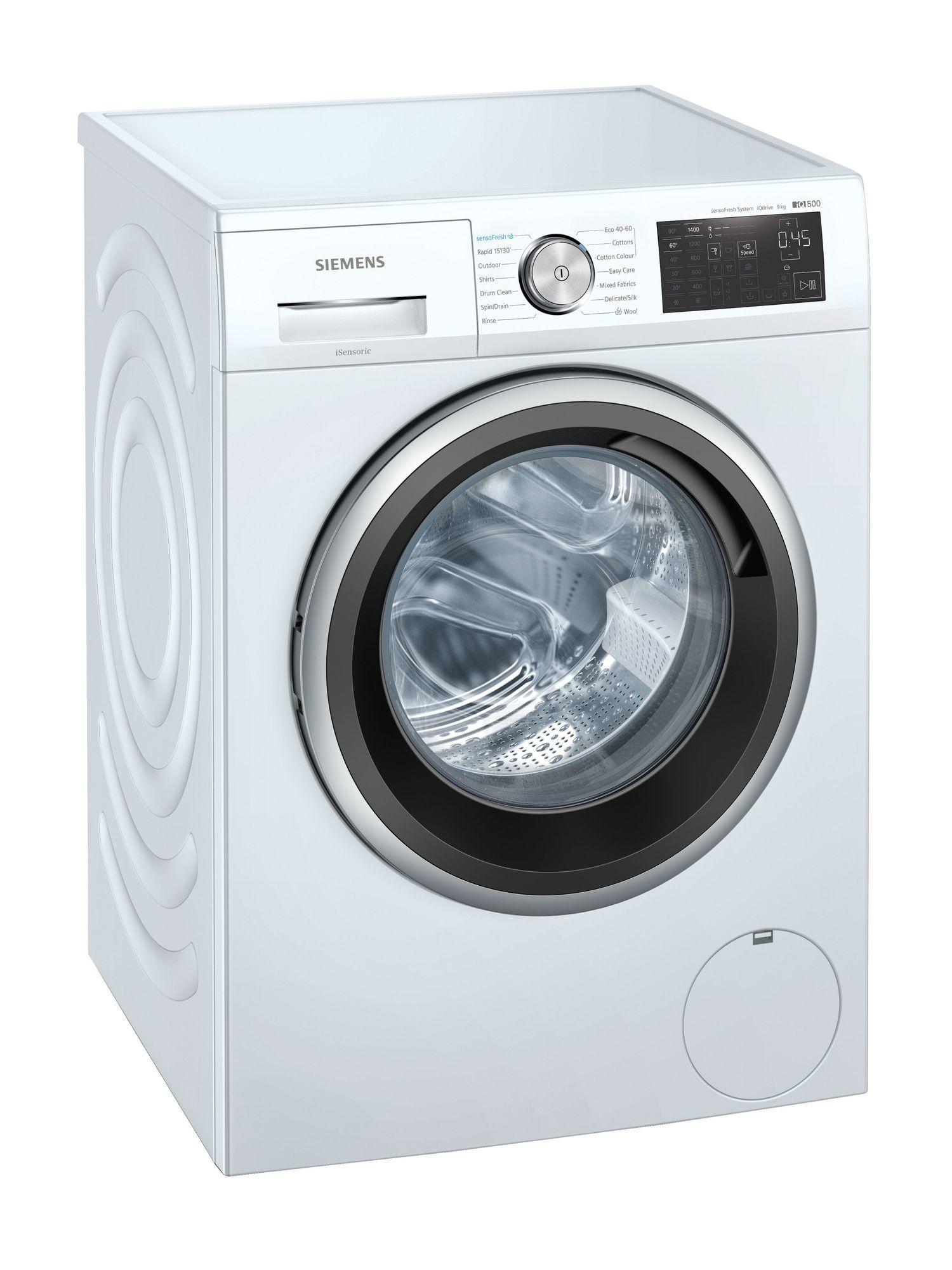 Image of iQ500 WM14UQ91GB 9Kg 1400 Spin Washing Machine   White