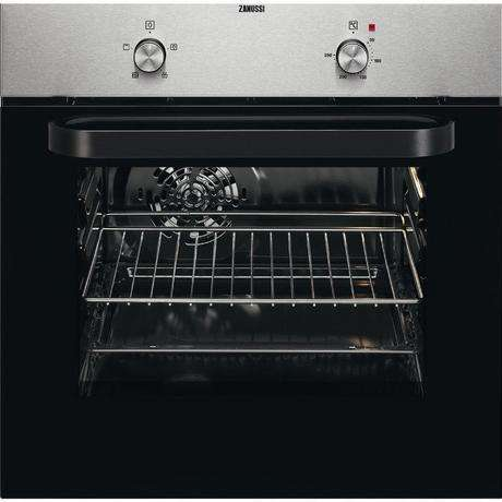 Zanussi ZZB30401XK Built In Electric Single Oven | Stainless Steel