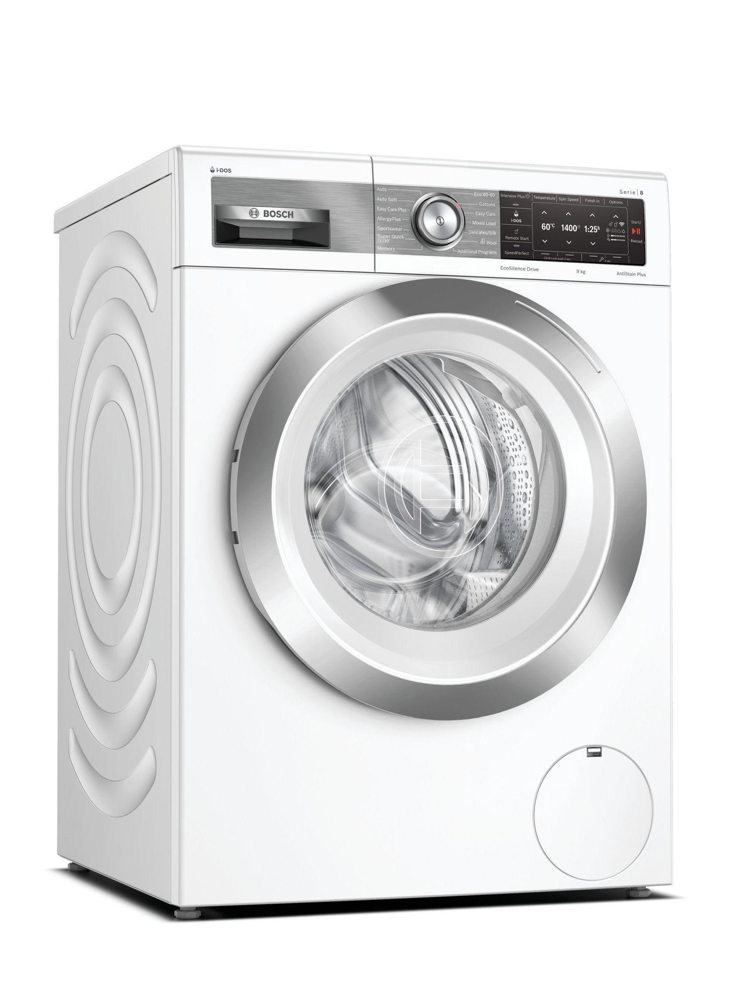 Image of Serie 8 WAV28EH3GB 9Kg 1400 Spin Washing Machine   White