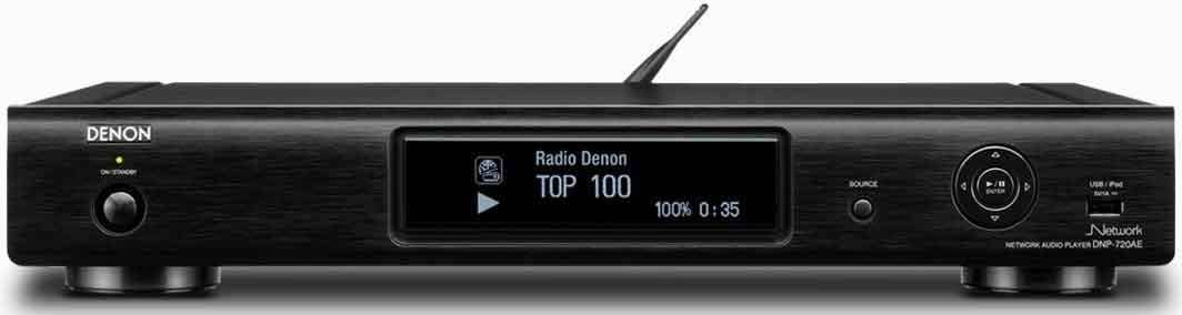 Denon DNP-720AEB (DNP720AEBKE2GB) NETWORK DLNA MEDIA PLAYER