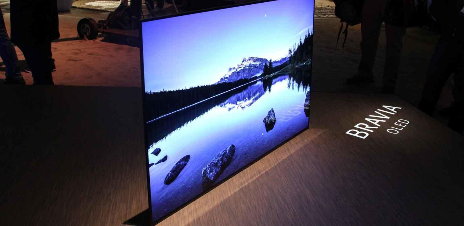sony bravia kd55a1 oled 4k hdr premium tv launch preview. Black Bedroom Furniture Sets. Home Design Ideas