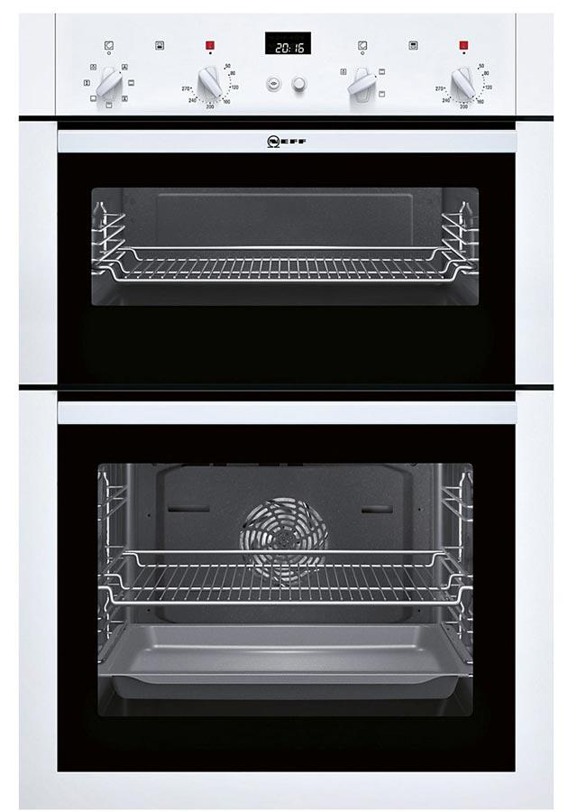 Neff U14M42W5GB Built-In Electric Double Oven