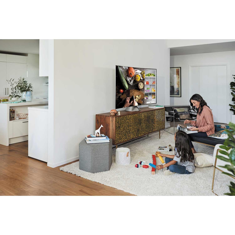 samsung qe55q8cnatxxu qe55q8cn 55 inch curved qled hdr 4k tv. Black Bedroom Furniture Sets. Home Design Ideas