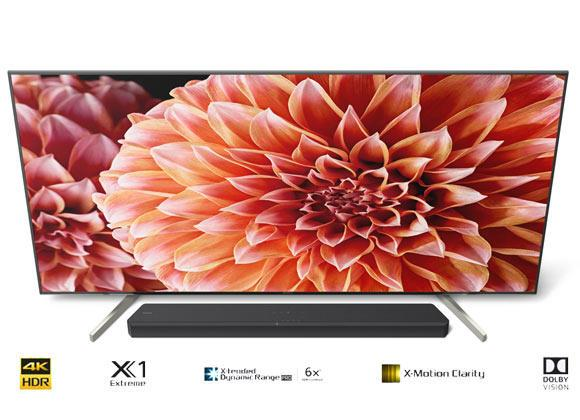 Sony BRAVIA KD65XF9005BU 65 inch 4K Ultra HD HDR Smart LED Android TV