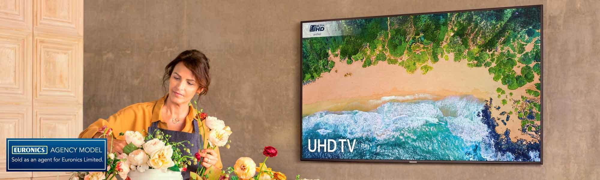 Samsung UE65NU7100 65 inch 4K Ultra HD HDR Smart LED TV