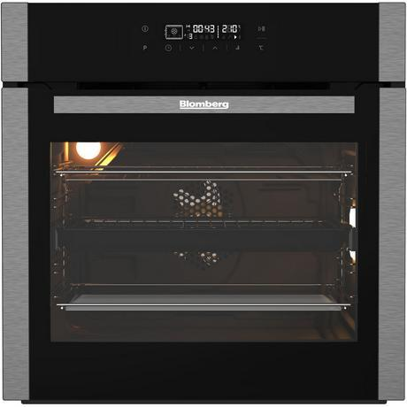 Blomberg OEN9480X Built In Multifunction Pyro Programmable Electric Single Oven