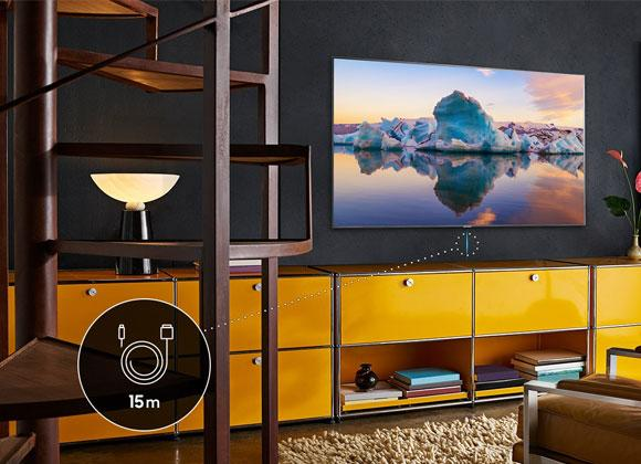 Samsung VG-SOCR15/XC 15M (2019) QLED TV Near Invisible One Connect Cable