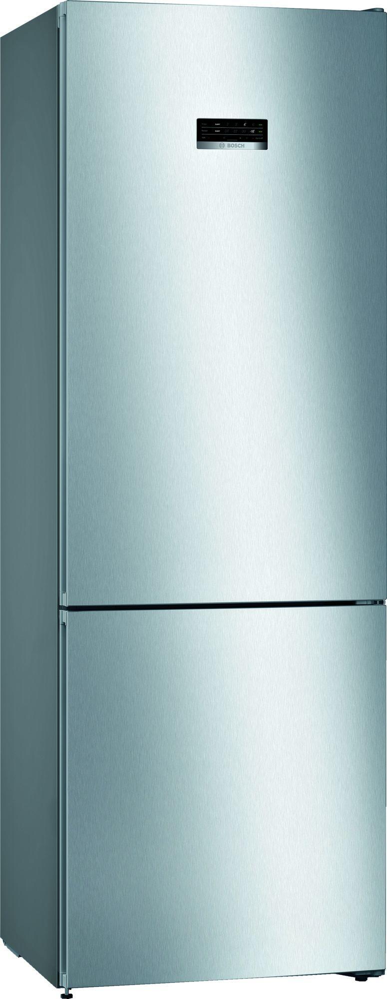 Image of Serie 4 KGN49XLEA 70cm 435 Litre Frost Free Fridge Freezer | Silver Innox