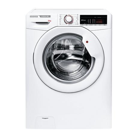 Image of H3W58TE 8kg 1500 Spin Washing Machine - White