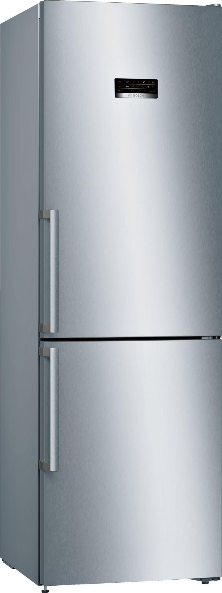 Image of Serie 4 KGN36XLER 60cm 324 Litre No Frost Fridge Freezer | Silver Innox
