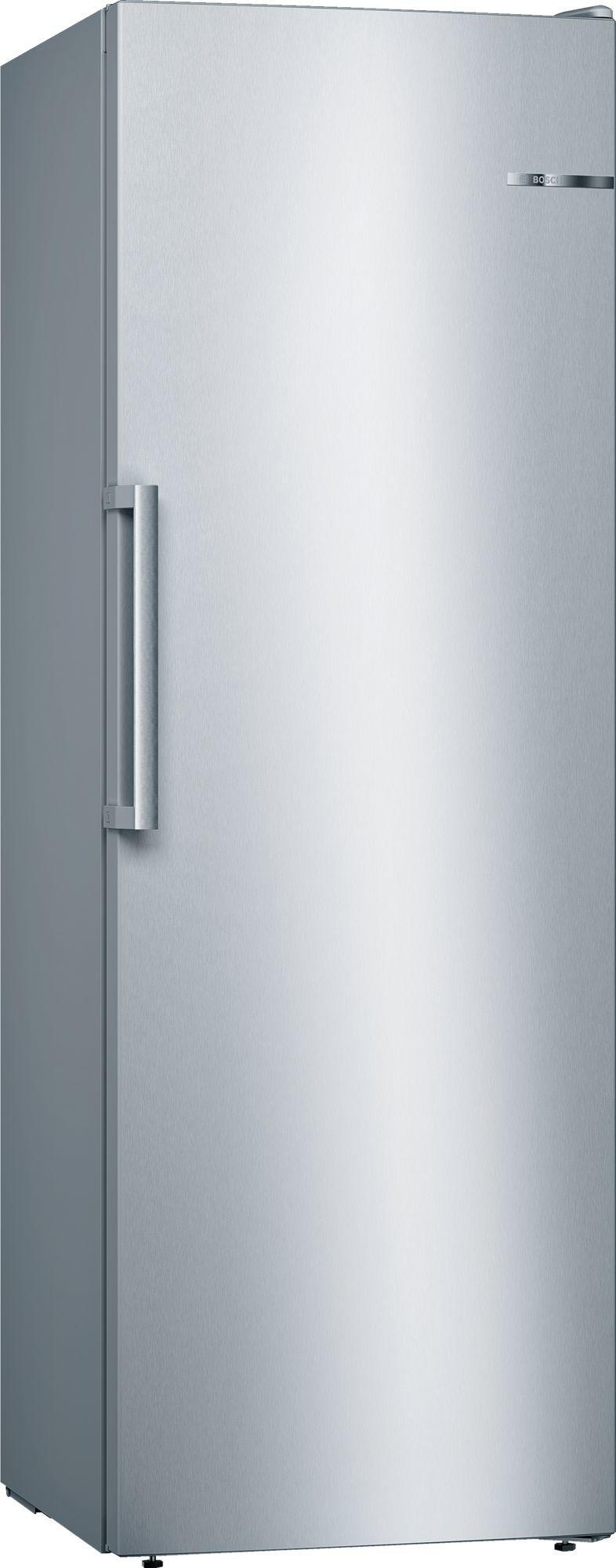 Image of Serie 4 GSN33VLEP 60cm 225 Litre Frost Free Single Door Freezer   Silver Innox