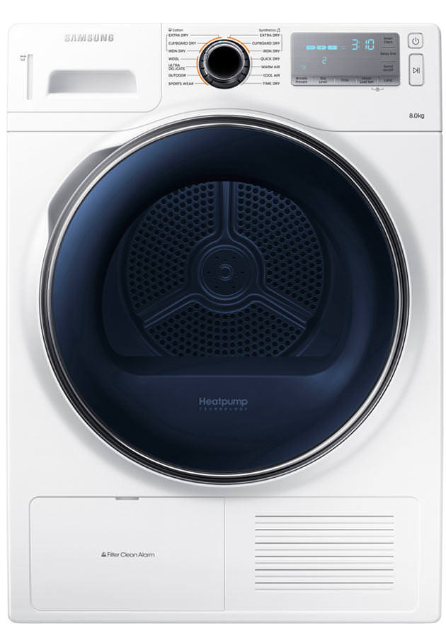 Image of DV80H8100 8Kg Heat Pump Condenser Tumble Dryer