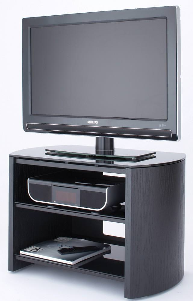 Alphason FW750-B FINEWOODS BLACK TV STAND