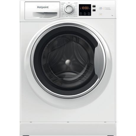 Image of NSWE743UWSUKN 7 kg 1400 Spin Washing Machine | White