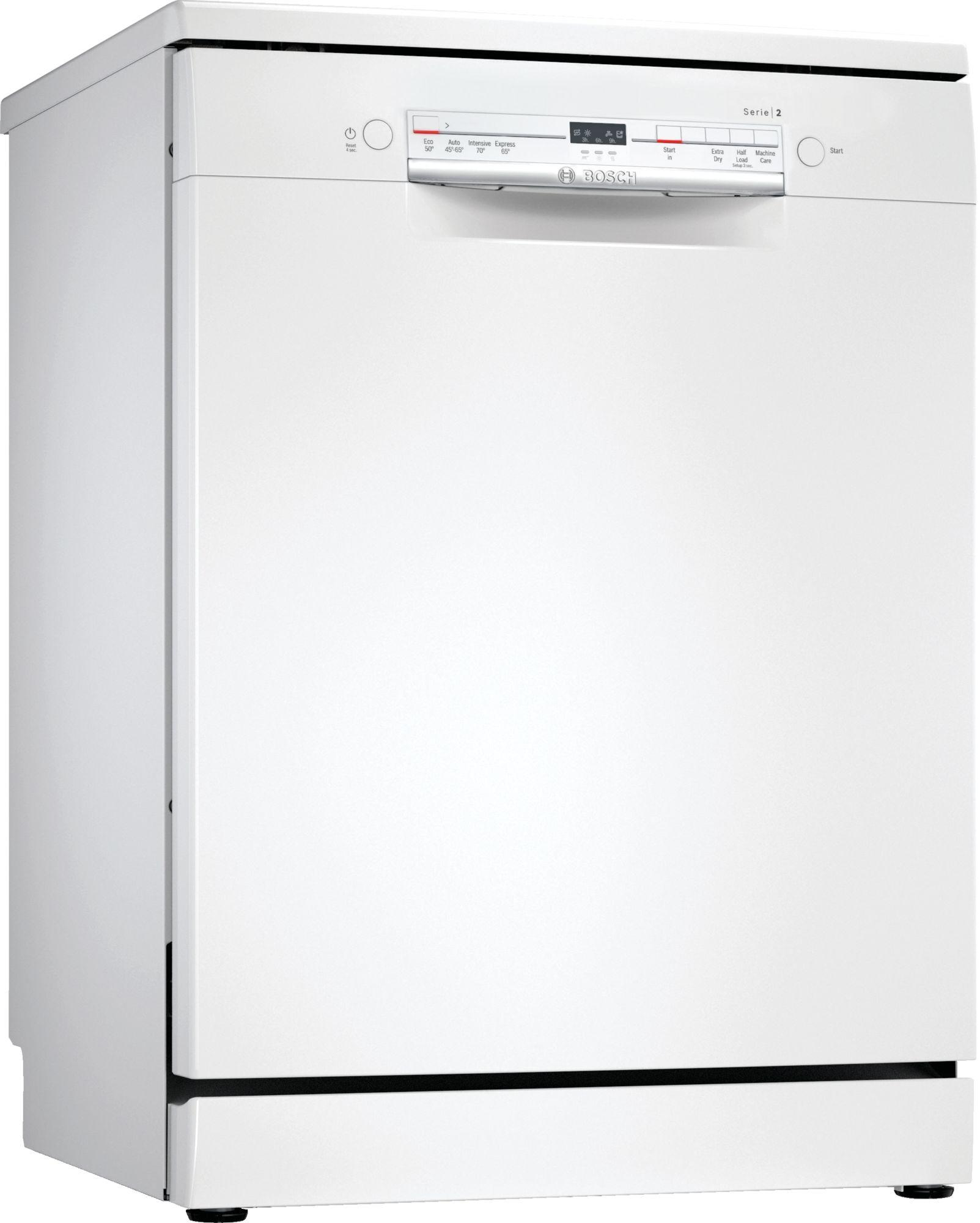 Image of Serie 2 SGS2ITW08G 60cm Standard Dishwasher | White