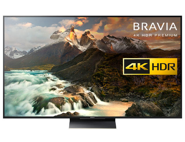 "Sony BRAVIA KD75ZD9 75"" Android HDR 4K Smart LED TV"