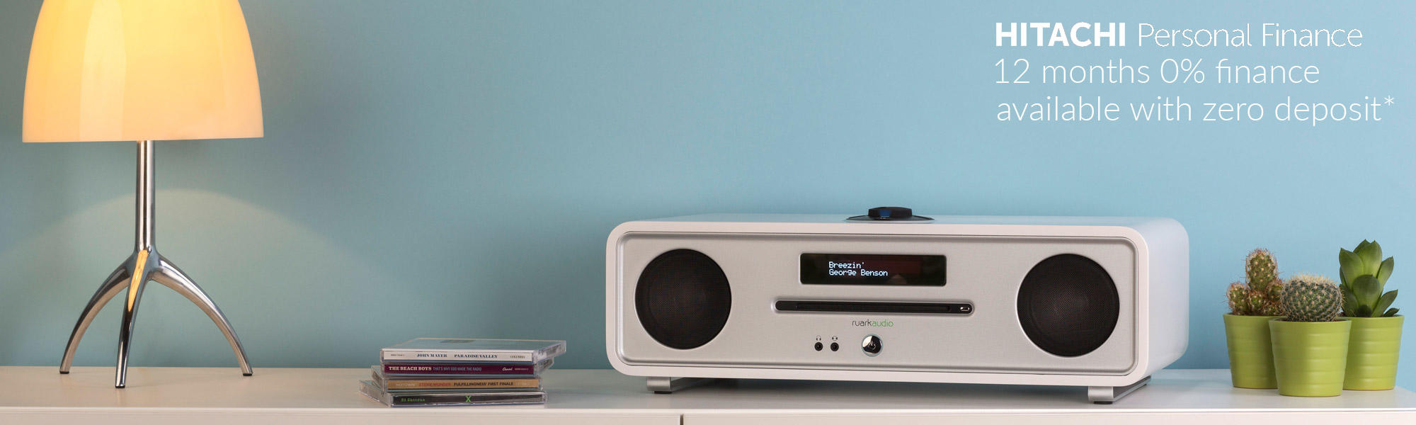 Ruark Audio R4 Mk3 CD, DAB, Bluetooth Music System in Soft White Lacquer