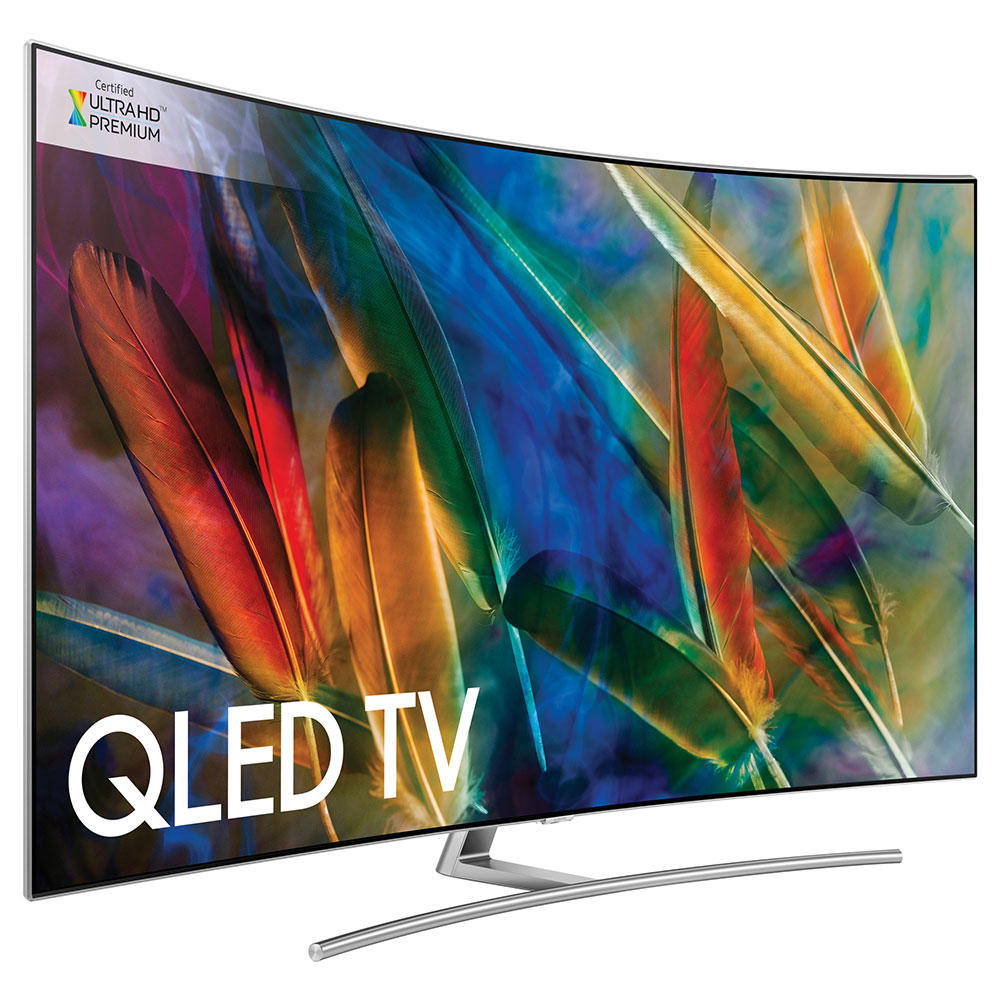 samsung qe55q8camtxxu qe55q8c curved qled hdr 4k tv. Black Bedroom Furniture Sets. Home Design Ideas