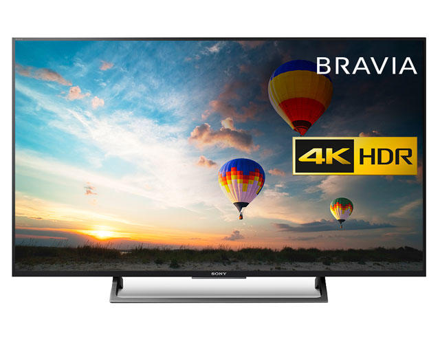 sony bravia kd 43xe8005bu kd43xe8005 sony hdr 4k tv. Black Bedroom Furniture Sets. Home Design Ideas