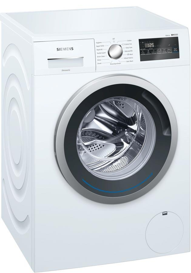 Siemens iQ300 WM14N201GB 8Kg 1400 Spin Washing Machine