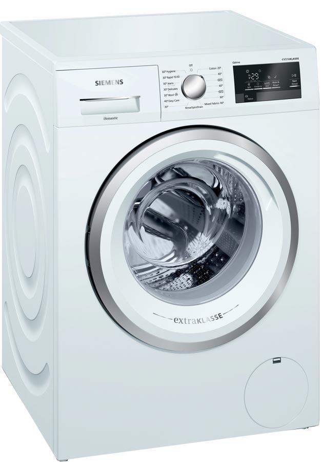 Siemens iQ500 WM14T391GB 8Kg 1400 Spin Washing Machine