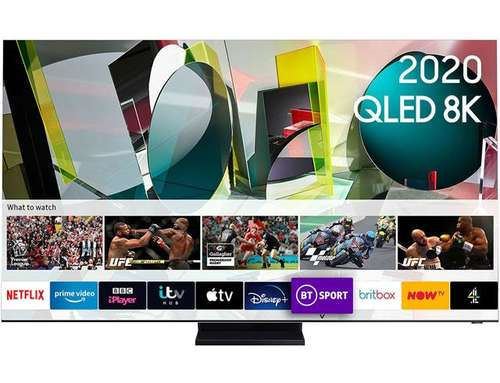 Samsung QE75Q950T (2020) 75 inch Flagship QLED 8K HDR 4000 Smart TV with Tizen OS
