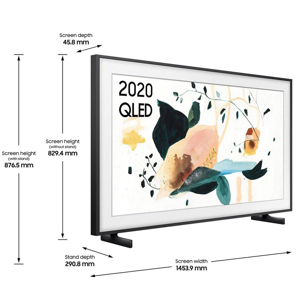 Samsung QE65LS03T The Frame (2020) 65 inch 4K Art Mode QLED Frame TV with Tizen OS