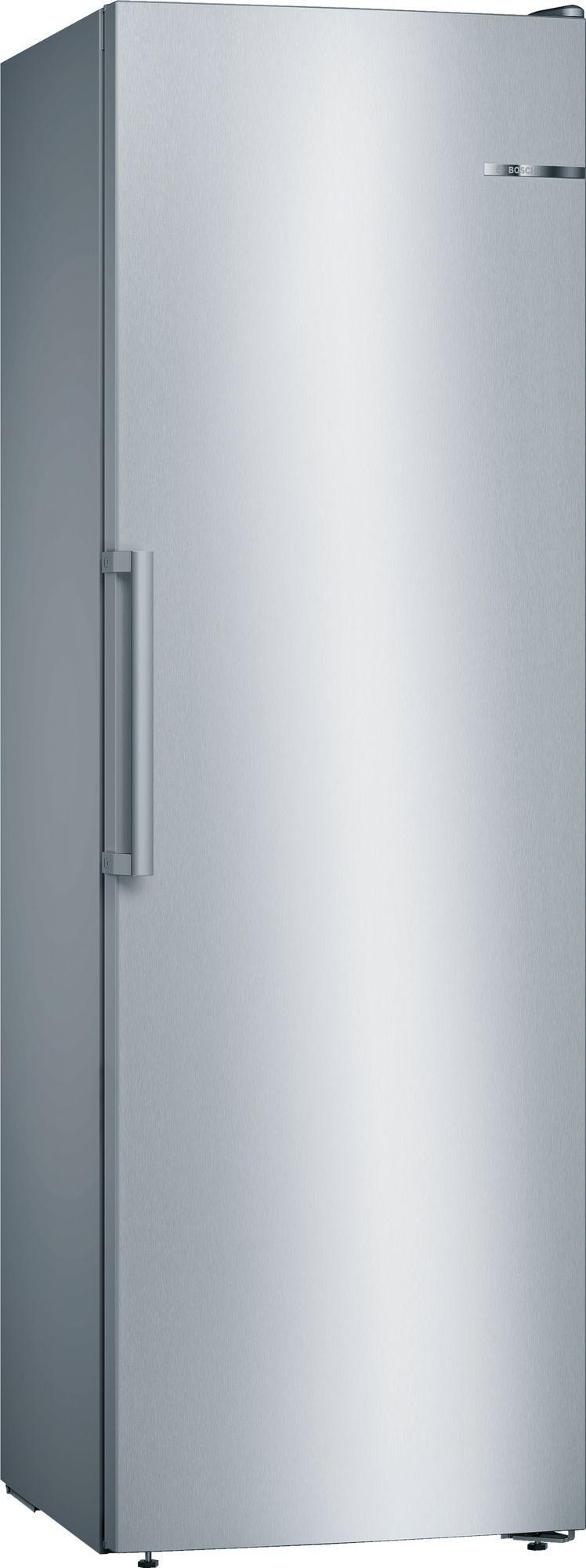 Image of Serie 4 GSN36VLFP 60cm 242 Litre Frost Free Tall Single Door Freezer | Silver Innox