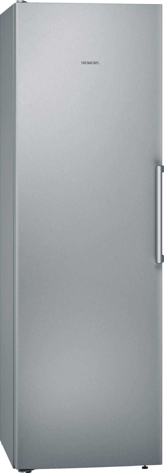 Image of iQ300 KS36VVIEPG 346 Litre Single Door Fridge | Silver Innox