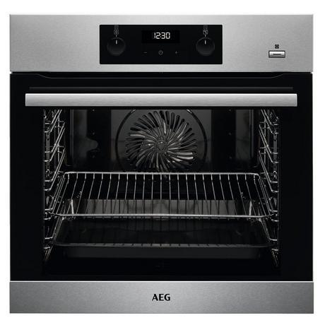 Image of AEG BES255011M Built In Electric Single Oven - Stainless Steel - A Energy Rated