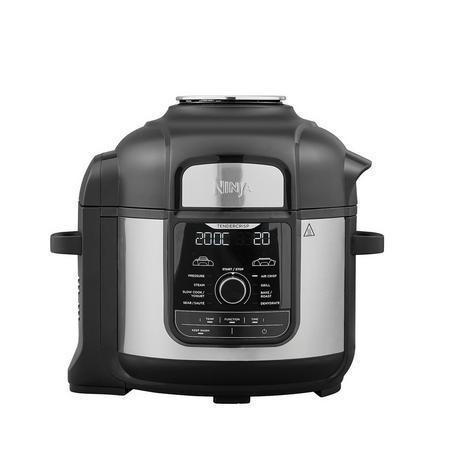 Image of OP500UK Foodi MAX 9-in-1 7.5 Litre Multi-Cooker | Black/Stainless Steel