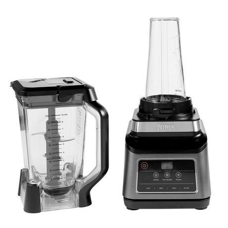 Image of BN750UK 2-in-1 Blender with Auto-iQ | Black/Sliver