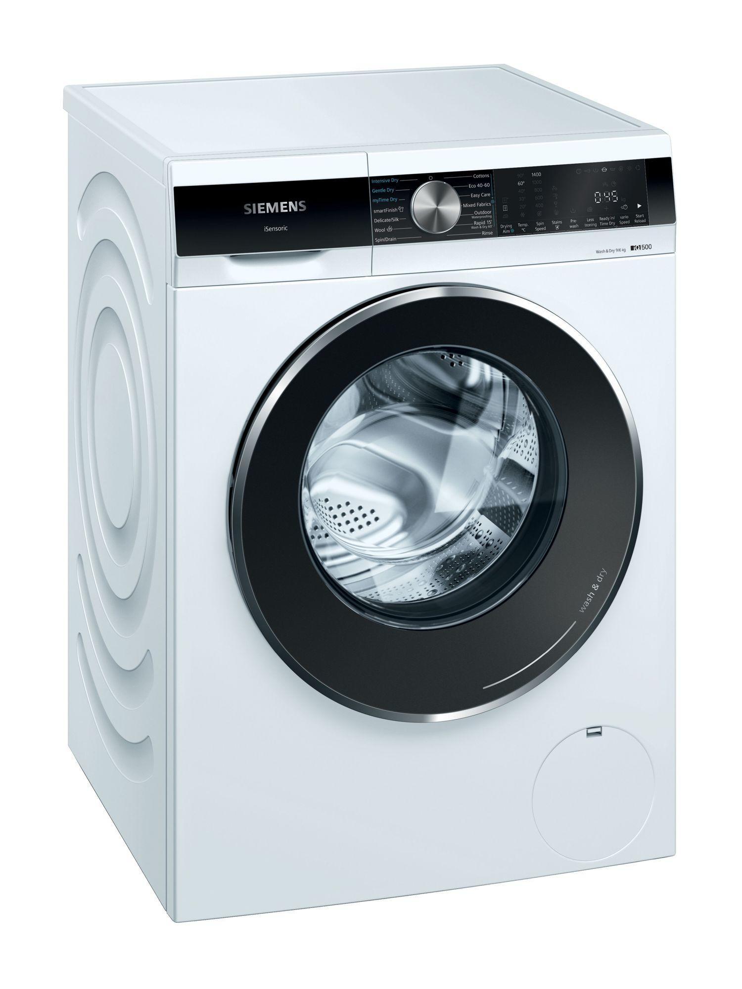 Image of iQ500 WN44G290GB 9Kg Wash 6Kg Dry 1400 Spin Washer Dryer   White