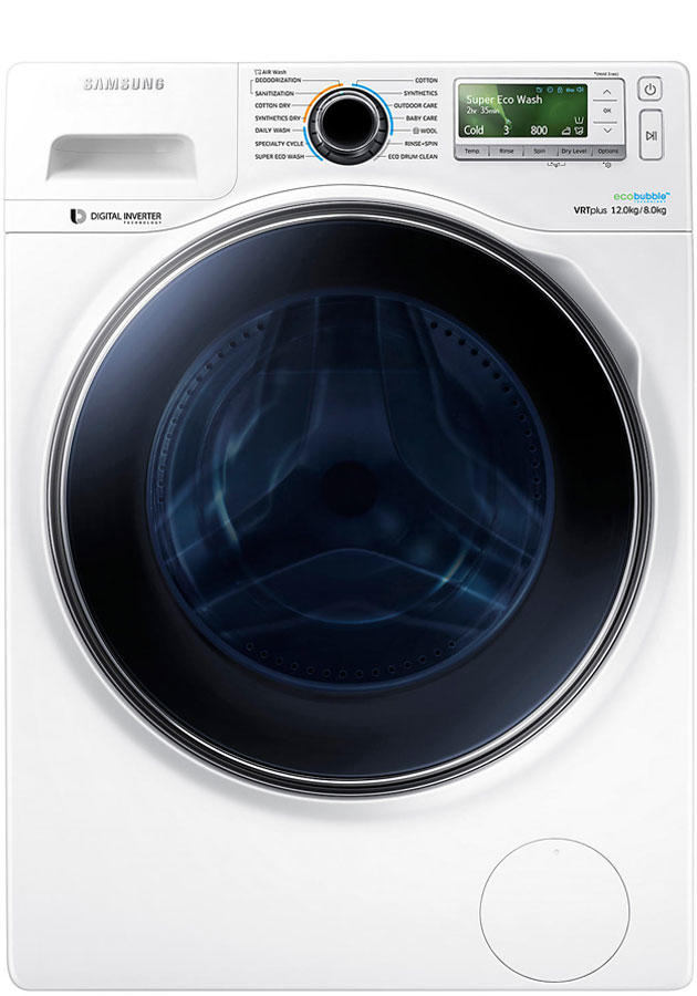 WD12J8400GW 12Kg 1400 Spin Washer Dryer