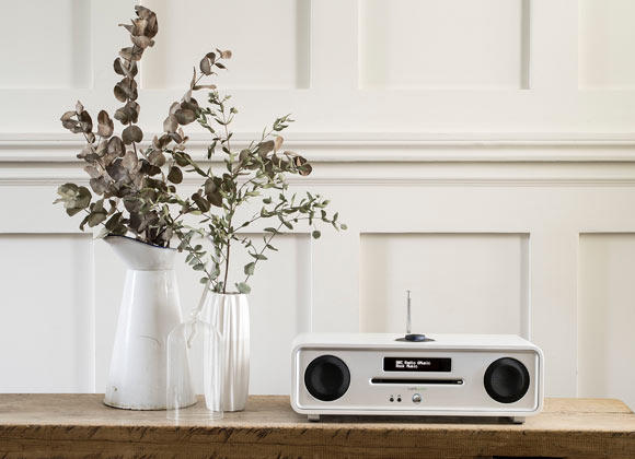 Ruark Audio R4 MK3 CD, DAB, Bluetooth Music System - White