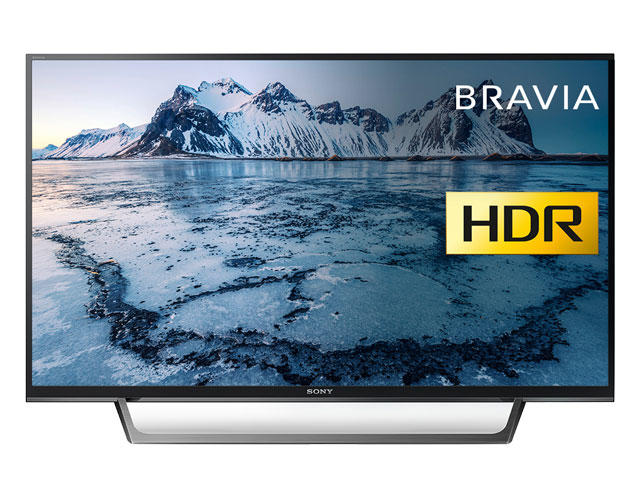 "Sony BRAVIA KDL49WE663 49"" Full HD HDR LED Smart TV"